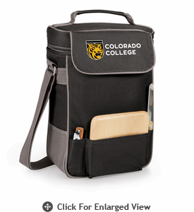 Picnic Time Duet Digital Print - Black/Grey Colorado College Tigers