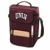 Picnic Time Duet Digital Print - Burgundy University of Nevada LV Rebels