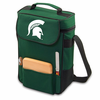 Picnic Time Duet Digital Print - Hunter Green Michigan State Spartans