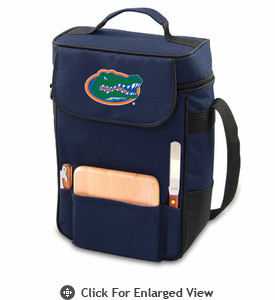 Picnic Time Duet Digital Print - Navy Blue University of Florida Gators
