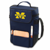 Picnic Time Duet Digital Print - Navy Blue University of Michigan Wolverines