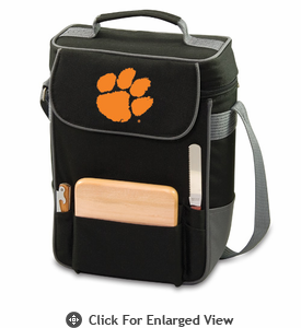 Picnic Time Duet Embroidered - Black/Grey Clemson University Tigers
