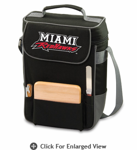 Picnic Time Duet Embroidered - Black/Grey Miami University Red Hawks