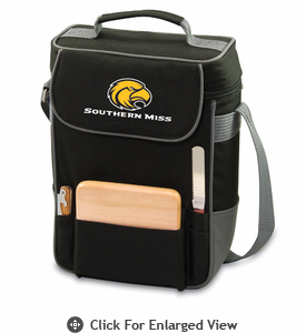Picnic Time Duet Embroidered - Black/Grey Southern Miss Golden Eagles
