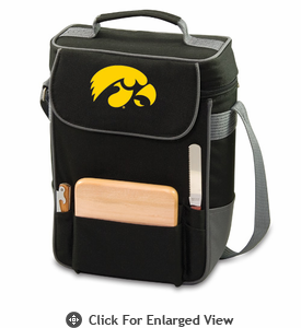 Picnic Time Duet Embroidered - Black/Grey University of Iowa Hawkeyes