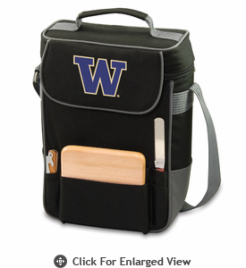 Picnic Time Duet Embroidered - Black/Grey University of Washington Huskies