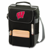 Picnic Time Duet Embroidered - Black/Grey University of Wisconsin Badgers