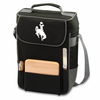 Picnic Time Duet Embroidered - Black/Grey University of Wyoming Cowboys