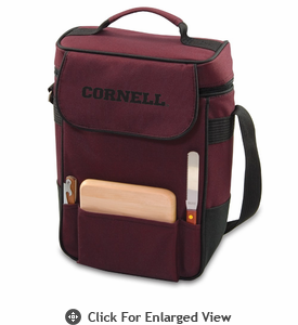 Picnic Time Duet Embroidered - Burgundy Cornell University Bears
