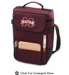 Picnic Time Duet Embroidered - Burgundy Mississippi State Bulldogs
