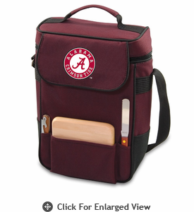 Picnic Time Duet Embroidered - Burgundy University of Alabama Crimson Tide