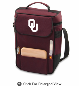 Picnic Time Duet Embroidered - Burgundy University of Oklahoma Sooners
