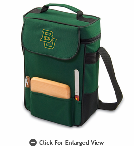 Picnic Time Duet Embroidered - Hunter Green Baylor University Bears