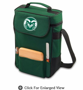 Picnic Time Duet Embroidered - Hunter Green Colorado State Rams