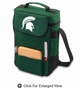 Picnic Time Duet Embroidered - Hunter Green Michigan State Spartans