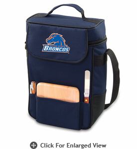 Picnic Time Duet Embroidered - Navy Blue Boise State Broncos