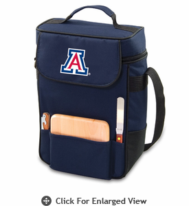Picnic Time Duet Embroidered - Navy Blue University of Arizona Wildcats