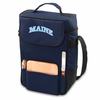 Picnic Time Duet Embroidered - Navy Blue University of Maine Black Bears