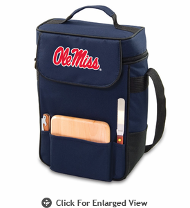 Picnic Time Duet Embroidered - Navy Blue University of Mississippi Rebels