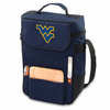 Picnic Time Duet Embroidered - Navy Blue West Virginia University Mountaineers