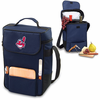 Picnic Time Duet - Navy Blue Cleveland Indians