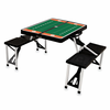 Picnic Time Football Picnic Table Clemson University Tigers