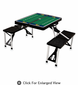 Picnic Time Football Picnic Table Georgia Tech Yellow Jackets