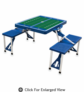 Picnic Time Football Picnic Table McNeese State Cowboys