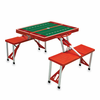 Picnic Time Football Picnic Table - Red Stanford University Cardinal