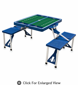 Picnic Time Football Picnic Table University of Maine Black Bears