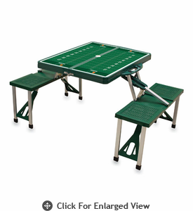 Picnic Time Football Picnic Table University of Miami Hurricanes