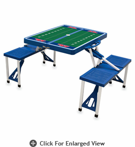 Picnic Time Football Picnic Table University of Mississippi Rebels