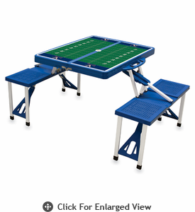 Picnic Time Football Picnic Table University of Virginia Cavalier