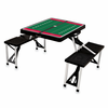Picnic Time Football Picnic Table University of Wisconsin Badgers