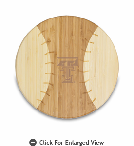 Picnic Time  Homerun! Cutting Board Texas Tech Red Raiders
