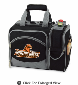 Picnic Time Malibu Digital Print - Black Bowling Green University Falcons