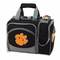 Picnic Time Malibu Digital Print - Black Clemson University Tigers