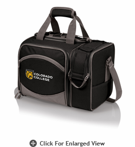 Picnic Time Malibu Digital Print - Black Colorado College Tigers