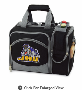 Picnic Time Malibu Digital Print - Black James Madison University Dukes