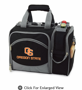 Picnic Time Malibu Digital Print - Black Oregon State Beavers