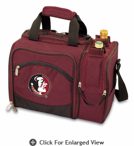 Picnic Time Malibu Digital Print - Burgundy Florida State Seminoles
