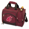 Picnic Time Malibu Digital Print - Burgundy Washington State Cougars
