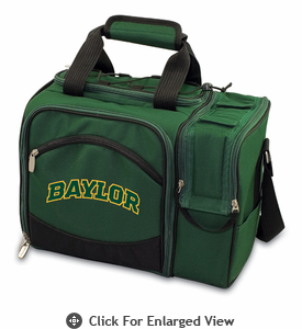 Picnic Time Malibu Digital Print - Hunter Green Baylor University Bears