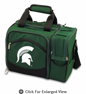 Picnic Time Malibu Digital Print - Hunter Green Michigan State Spartans