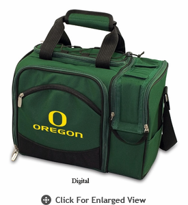 Picnic Time Malibu Digital Print - Hunter Green University of Oregon Ducks