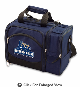 Picnic Time Malibu Digital Print - Navy Blue BYU Cougars