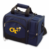 Picnic Time Malibu Digital Print - Navy Blue Georgia Tech Yellow Jackets