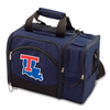 Picnic Time Malibu Digital Print - Navy Blue Louisiana Tech Bulldogs
