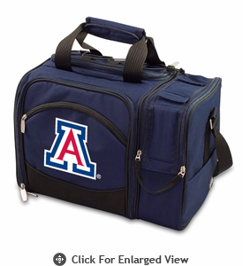 Picnic Time Malibu Digital Print - Navy Blue University of Arizona Wildcats