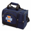 Picnic Time Malibu Digital Print - Navy Blue University of Illinois Fighting Illini